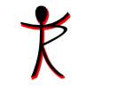 Männchen, Logo Praxis, Therapie
